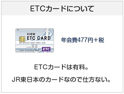 ビックカメラSuicaカードのETCカードについて